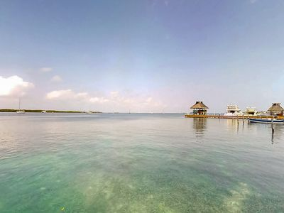 Photo for Oceanfront studio with ocean views, private beach and kayaks