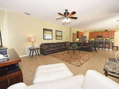 Photo for LOVELY Watersong 6BDR/5BA & 2 1/2BA VILLA w/Saltwater Pool,Game RM, Resort Amenities