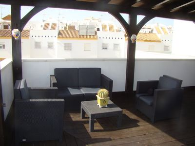 Photo for Duplex in the center of Conil, very close to the beach and overlooking the sea. Wifi