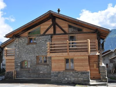 Photo for 10 min away from Le Châble/Verbier, charming renovated chalet.