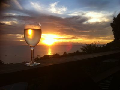 Photo for Carpe Diem Villa-Studio-Sunset 2-Sleeps 2/3-Amazing sea view even from the bed