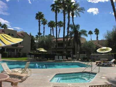Photo for Home Away From Home 1 Bedroom, 1 Bath Condo Close To All. Pool, Jacuzzi, Tennis.