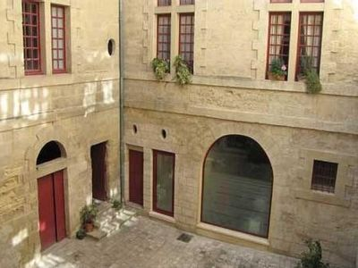 Photo for Pretty apartment in one of the prettiest Renaissance 'hôtel particulier' in Uzès