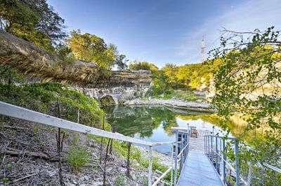 Make your way to stunning Lake Whitney at this waterfront vacation rental!