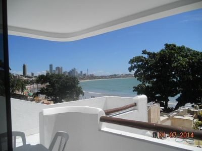 Photo for Apartment with wonderful views of the black tip of the bay until via costiera