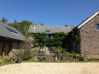 Photo for Self Catering Cottage Overlooking Wooded Valley and Gorse Clad Hillside