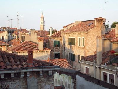 Photo for Ruskin House, a bright and romantic attic above the rooftops of Venice