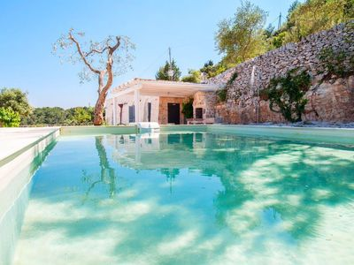 Photo for In peace to enjoy your private pool in a typical Apulian Trulli