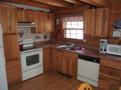 Photo for Alice's Acres- cozy log home in the woods, close to Nederland and Black Hawk