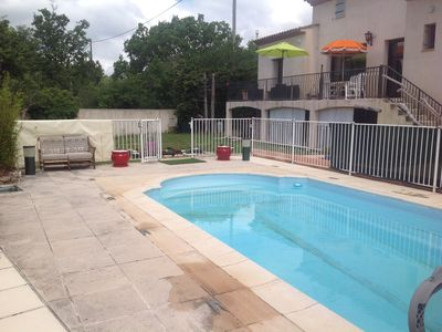 Photo for Beautiful villa, 10 minutes from shops in a peaceful area with swimming pool.