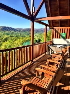 Photo for Labor Day Open!1.5 Miles to Pkwy!Views*Theater Room*Arcade Games*Pool*Hot Tub