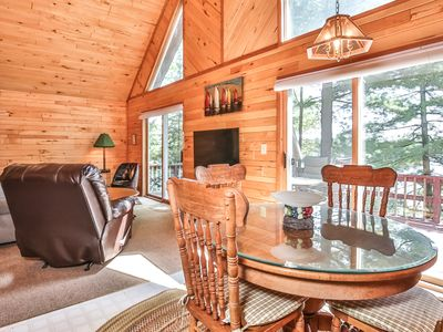 Photo for New Listing! 6 Acres on Little Saint Germain Lake in Wisconsin's Northwoods
