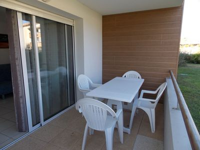 Photo for Apartment sleeps 4 2 steps from the beach Océanides Capbreton C475