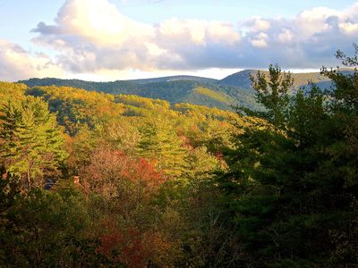 Photo for Blue Ridge Mountain Haven- Awesome Views- Secluded Yet Only Minutes to Downtown!
