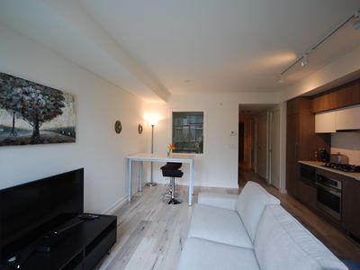Photo for Modern 1 Bedroom / 2nd Floor / Calgary Waterfront / Eau Claire / Downtown