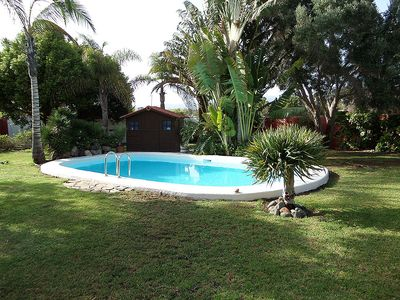 Photo for Private villa with stunning garden and private pool for 4 to 8 people