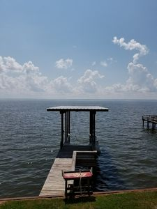 Photo for SMALL WATERFRONT CABIN ON OPEN WATER