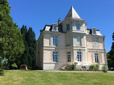 Photo for Manor 3 *** in park +10 000m ² equipped with 10mn watched beaches-large lakes