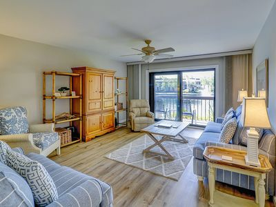 Photo for Comfortable villa w/ shared pool, hot tub, lagoon view & beach access nearby!