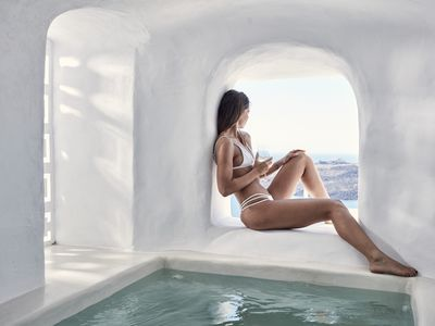 Photo for Junior Suite with Open Air Hot Tub and Caldera View