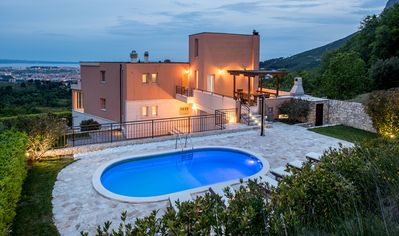 Photo for A beautiful villa with magnificent view of Split with 5 luxury bedrooms, swimmin