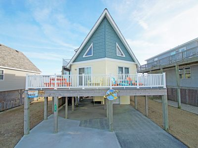 Photo for 3 BEDROOMS 2 BATHS JUST 150 YARDS TO DIRECT BEACH ACCESS. CROWS NEST & WiFi!!