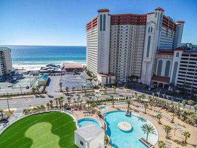 Photo for Condo rental w/ shared resort pools, hot tub, putting green, & more!