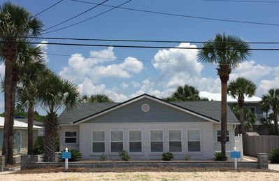 Photo for Family Vacation Beach Cottage ~ Across from the Beach
