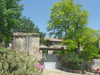Photo for 17th Century Provence farmhouse, close to the Gorges de L'ArdËche
