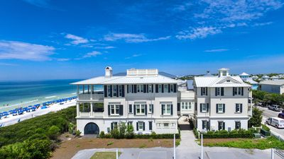 Photo for Stunning Seaside, FL Residence, Gulf Front, Two Complete Homes in One, Sleeps 24
