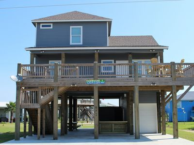 Photo for BRAND NEW Beach Cabin located in The CRYSTAL BEACH Holiday Beach Subdivision