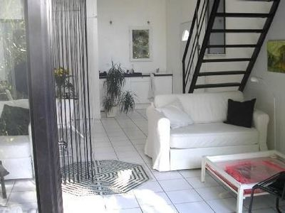 Photo for artist's house with patio, access to Mediterranean garden and swimming pool