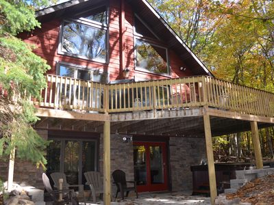 Photo for Grand Mt. Home, 7BR/3FullBath,  2 King BR, Game Rm, Hot tub! 3rd Night Discount!