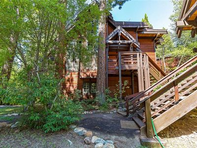 Photo for Incline Village: Third Creek Townhouse. Amazing Creek-side setting.
