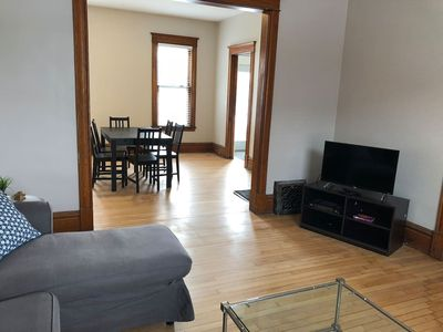 Photo for Quiet, large and close to Uptown  & Downtown!