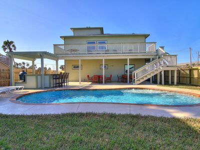 Photo for Leave of Absence! Amazing 4 bedrm home with private pool! 400 yards from beach!