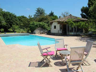 Photo for Gîtes with pool and tennis 5 minutes from the Palmyre