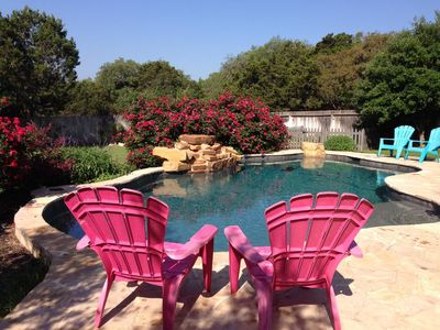 Photo for Private Pool. Family-friendly. Beautiful Home. Deer Come Right to the Porch