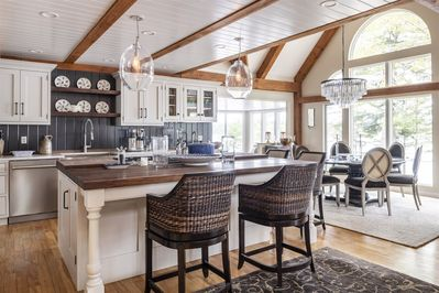 93 Abbot Cove in West Bath, Maine is a beautiful luxury home with three  bedrooms. It has a large gre - West Bath