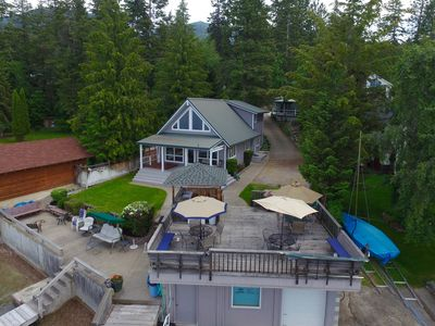 Photo for Prime Days open in July!! - 3 Cabins On The Shore Of Flathead Lake In Skidoo Ba