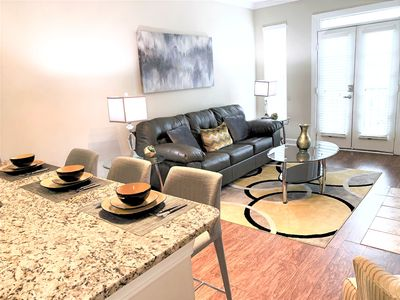 Photo for Monthly Discount! Private Suite w/City View!Smart TV's Free Wifi & Parking,- S24