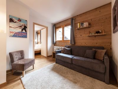Photo for Stylish, comfortable apartment just 5 minutes walk from the centre of Morzine.