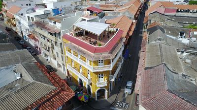 """Photo for Historic """"Los Balcones"""" one brm #304- Stunning Rooftop & balcony- WiFi/AC/HotH20"""