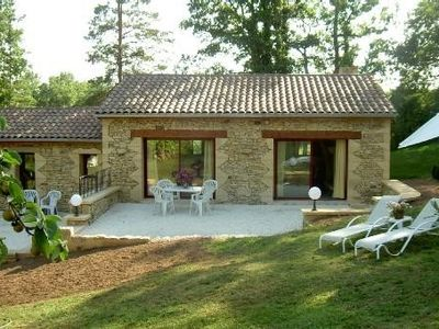 Photo for Gite Les Eyzies de Tayac 2 to 3 people - Black Périgord - 20km from sarlat, swimming pool