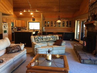 Photo for Great Views Near Town Clean Home Beautiful Property Large Deck with Bar & Grill