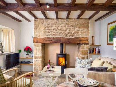 Photo for Rose End Cottage is a cosy Cotswold cottage, located on a quiet lane in a perfect, peaceful village