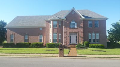 Large 4000 sq ft home with warm and cozy interior. Perfect for large groups.