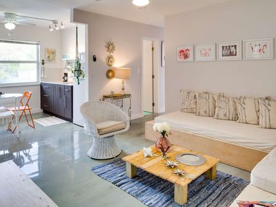 Photo for Wynwood Place - Artsy 2 bed/1 bath apartments, 5 mins walk to Wynwood Walls, free parking