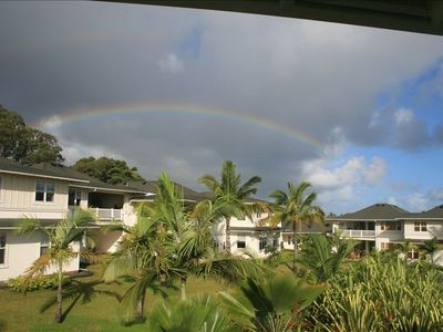 Rainbows Off of the Lanai