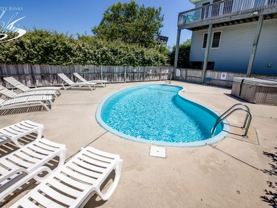 Photo for Carpe Duckem   1393 ft from the beach   Private Pool, Hot Tub